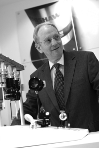 Renishaw founder Sir David McMurtry